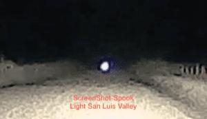 Anomalies Spook Light